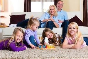familie tapijt